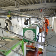 Tank Services Pernis (TSP) obtain 3 new, state-of-the-art Gröninger FOOD cleaning bays (5A/5B/6/7) incl. data monitoring.